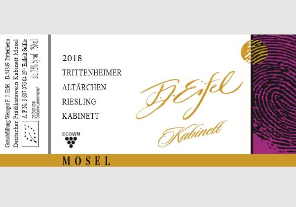 Trittenheimer Altarchen. Riesling Kabinett 2018
